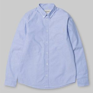 Carhartt WIP Button Down Pocket Herren Langarm Hemd