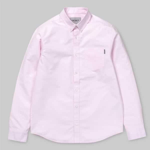Carhartt WIP Button Down Pocket Herren Langarm Hemd