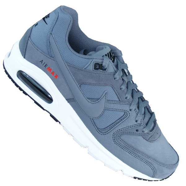 Nike Air Max Command Herren Running Laufschuhe Sneaker grau ...