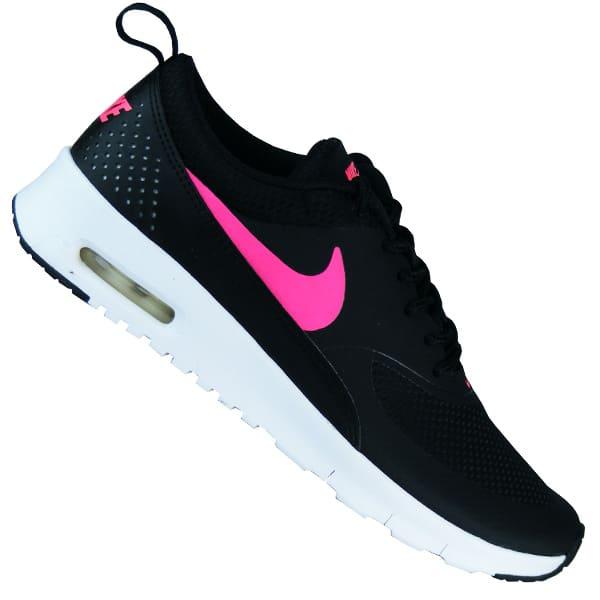 Nike Air Max Thea Running Damen Laufschuhe schwarz/pink ...