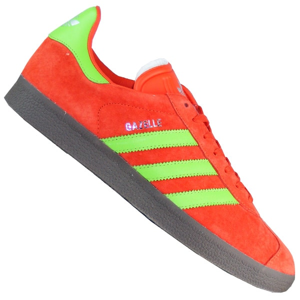 adidas gazelle rot and grau