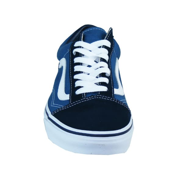 vans old school damen blau