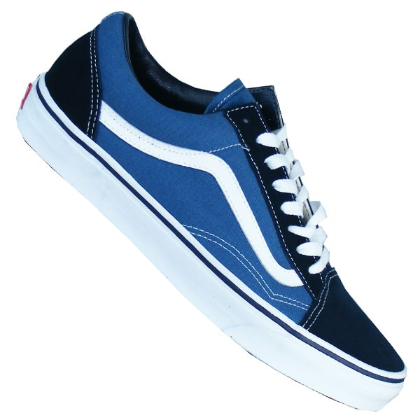 vans blau old skool