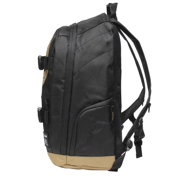 Element Mohave Skateboard Backpack Schulrucksack 30 Liter schwarzbeige