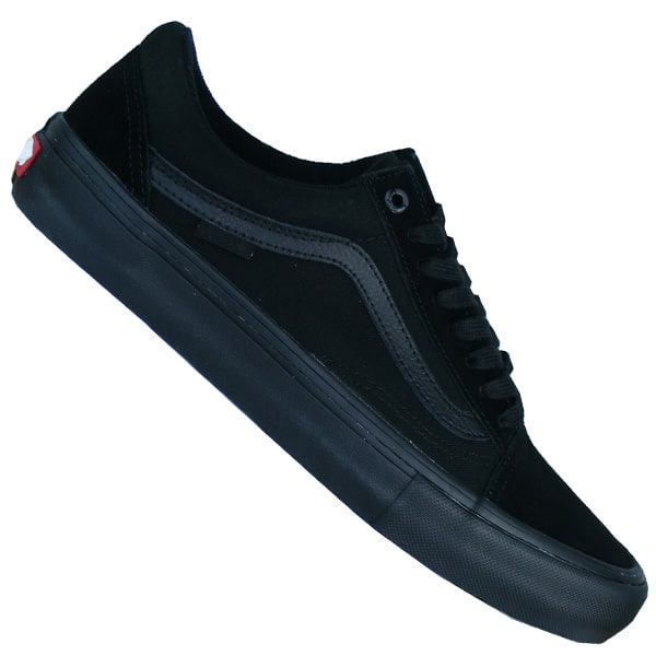 vans old skool blackout pro ultacush sohle sneaker damen. Black Bedroom Furniture Sets. Home Design Ideas
