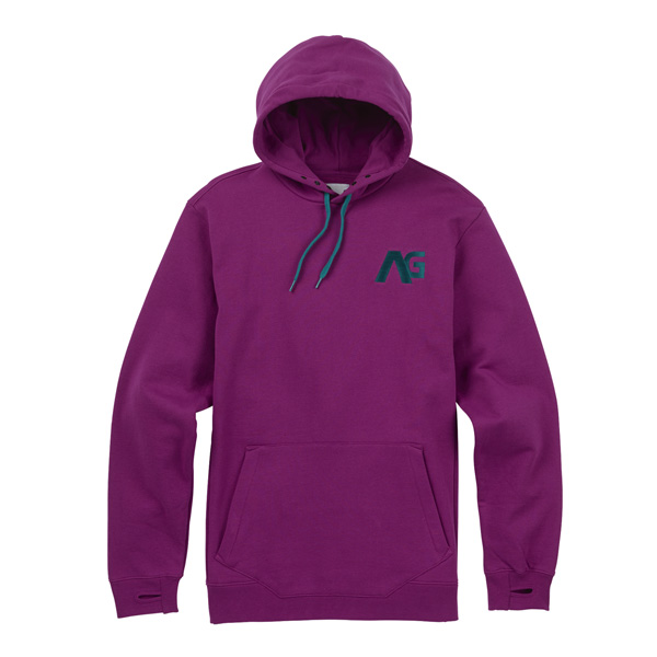 schicker Analog AG Crux Fleece Kapuzenhoodie