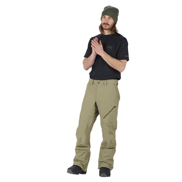 Zipper und Werkzeugfach in der rechten Tasche