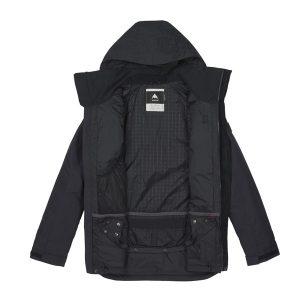 Schneefang mit Jacke zu Hose Docking Verbindung