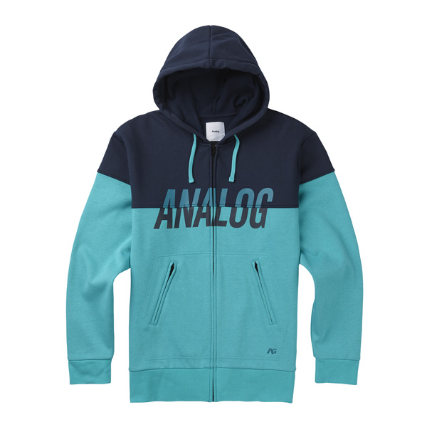 modischer Analog AG Kincaid Fleece Kapuzenhoodie