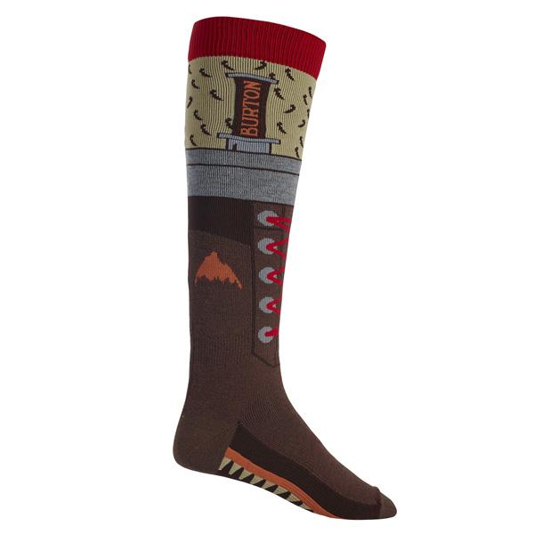 Burton Snowboard Party Socks The Hiker Kniestrümpfe