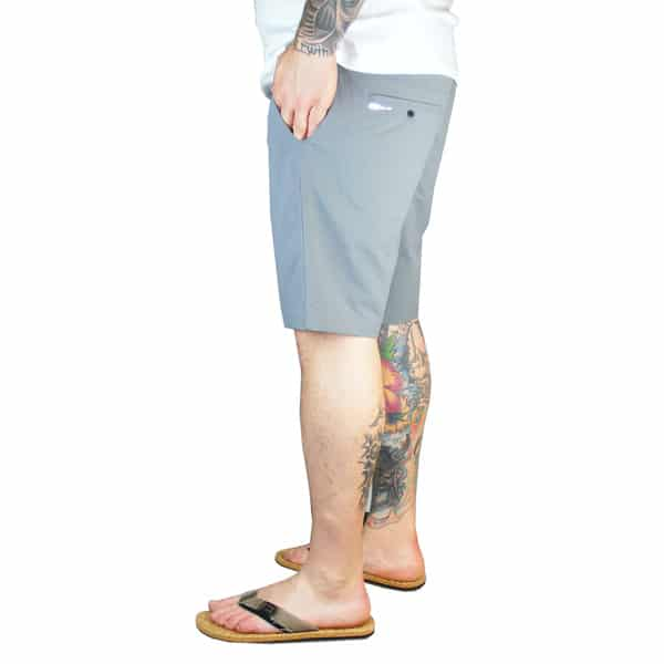 Am Beinende Hosen-Naht Umschlag