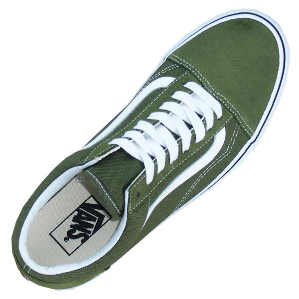 Vans Old Skool Winter Sneaker Herren Schuhe grün/weiß - meinsportline.de
