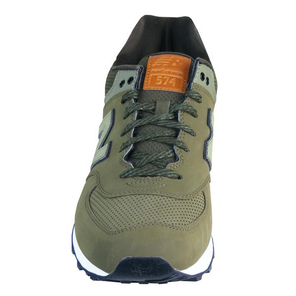 Schuhe Herren New Balance ML574 GPD D SNEAKER Herren oliv