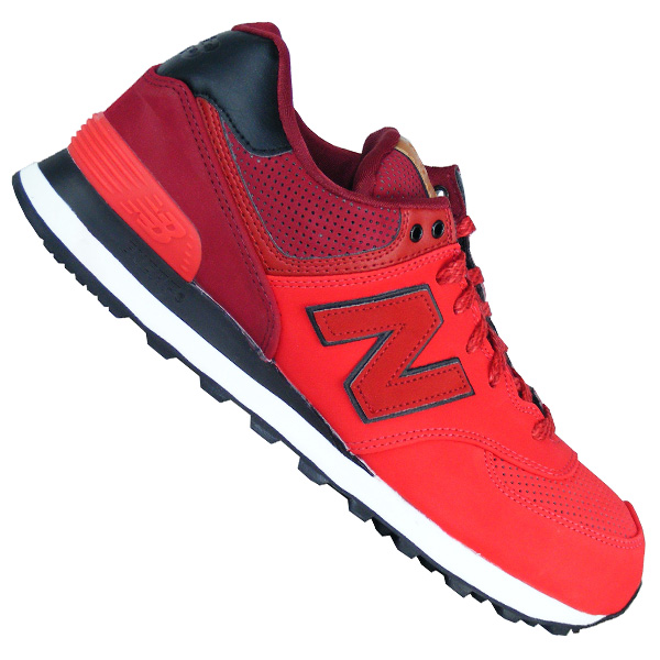 New Balance ML 574 GPE red Retro Sport Herren Laufschuhe rot ...