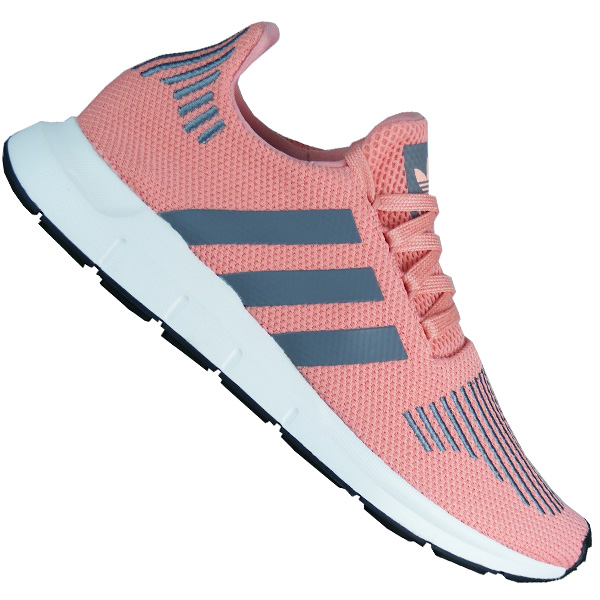 Adidas Originals Swift Run rosa grau Damen Sneaker