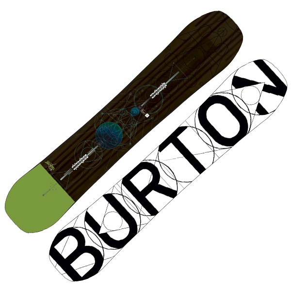 Burton Custom Flying V Snowboard 154cm