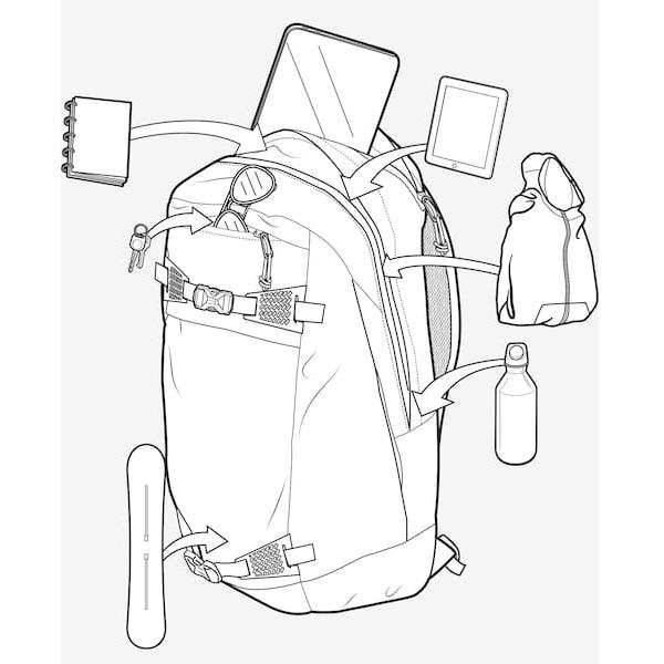 Fleece gefüttertes Brillenfach mit Schlüsselclip