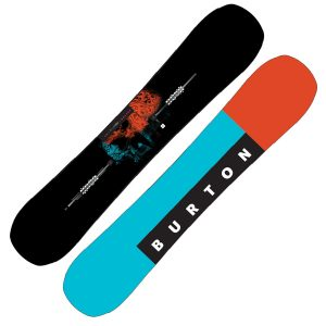 Flat Top, mit klassischer Vorspannung liegt auf inneren Kontaktpunkten Flat an nose und tail auf Rocker