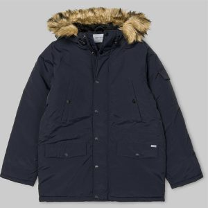 Carhartt Anchorage Damen Parka Winterjacke dark