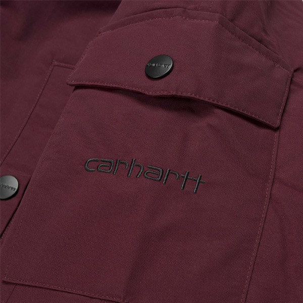 carhartt nimbus wip pullover schlupfjacke damen winter. Black Bedroom Furniture Sets. Home Design Ideas