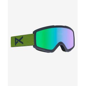 Anon Helix 2.0 Ski- und Snowboardbrille spare forrest green green solex