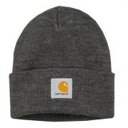 Carhartt Short Watch Beanie dark grey heather