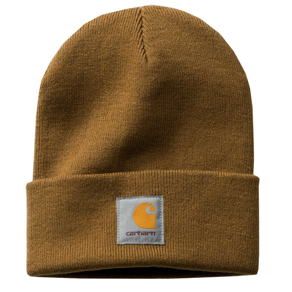 Carhartt Short Watch Beanie hamilton brown