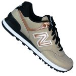 New Balance WL 574 SFF Seasonal Shimmer Retro Lifestyle Damenschuhe