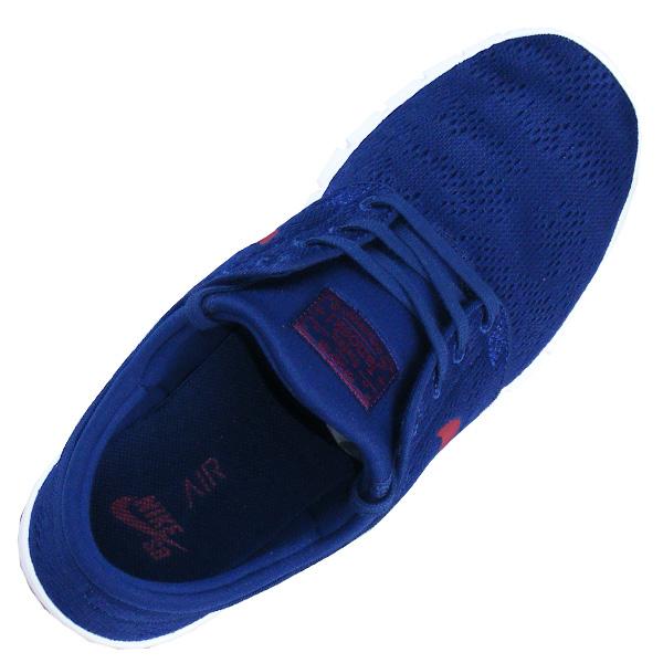 blauer Nike SB Stefan Janoski For Daily Use Stoffsticker auf der Zunge