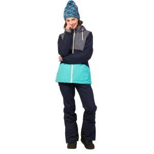zwei Seitentaschen mit Reißverschluss und Brusttasche mit Reißverschluss