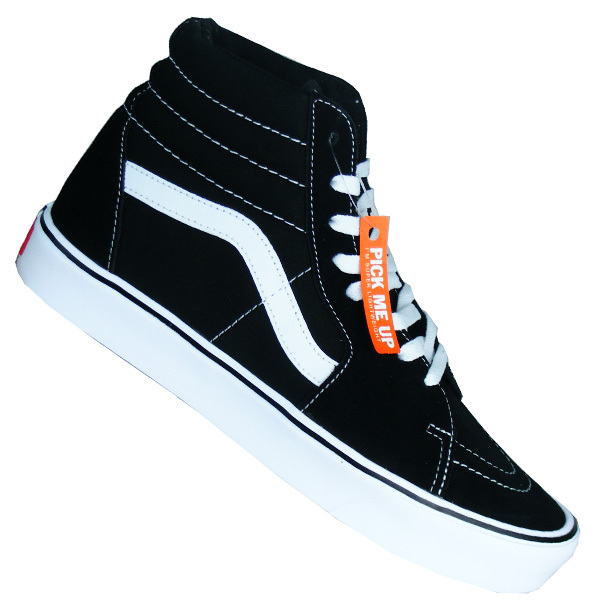 vans sk8 hi lite sneaker schwarz. Black Bedroom Furniture Sets. Home Design Ideas