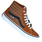 Vans SK8-Hi Old Skool Pro Herren Schuhe glazed ginger black white