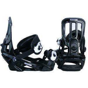 Salomon Pact Damen Snowboardbindung Gr. S black & white