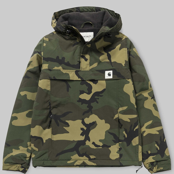 carhartt nimbus wip pullover camo combat green. Black Bedroom Furniture Sets. Home Design Ideas