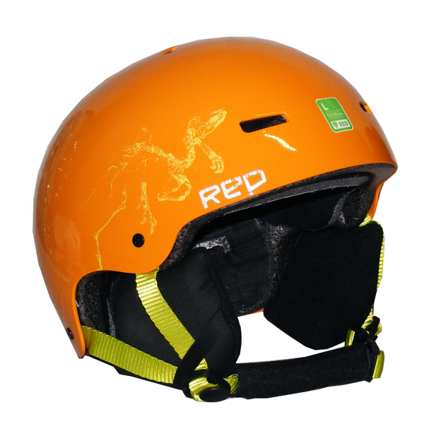 robuster Red by Burton Trace Grom Kinder Snowboard Helm