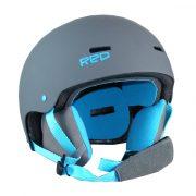 sicherer Red by Burton Trace Grom Kinder Snowboard Helm
