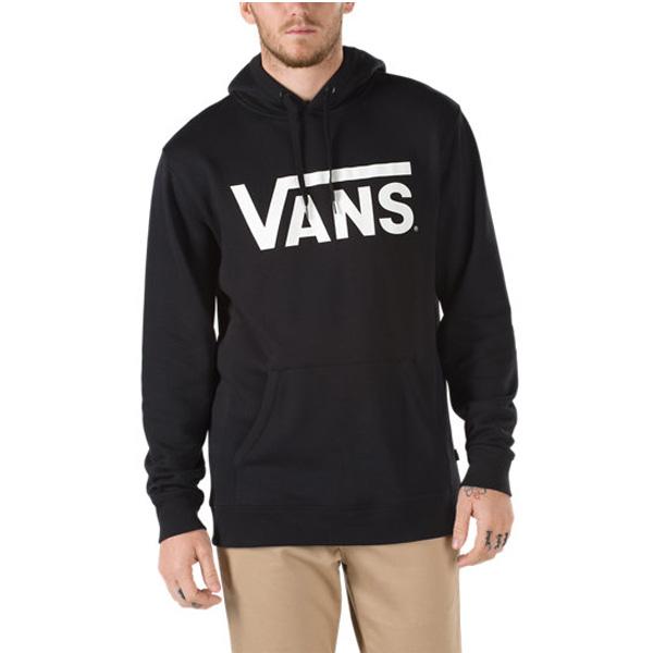 Vans Hooded Classic black white Kapuzenhoodie