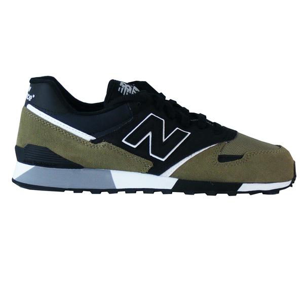2f8b8a6848 New Balance U446 GKW Sneaker grün/schwarz - meinsportline.de