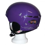 Durable Advanced In Mold Construction with helmet's foam liner with best impact-absorbing protection