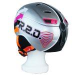 sportlich gestylter Red Snowboard Helm