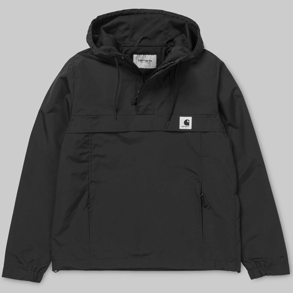 carhartt wip nimbus w damen windbreaker schwarz. Black Bedroom Furniture Sets. Home Design Ideas