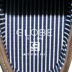 Innensohle Schaumgummisohle mit Globe Schriftzug