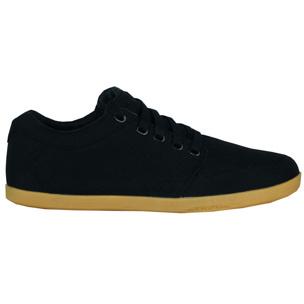 K1X Lp Low black light gum Sommer Herren Sneaker Schuhe schwarz
