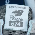Zungenlabel NB 574 Classics Textilpatch
