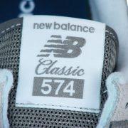 Zungenlabel NB 574 Classics Textilpatch