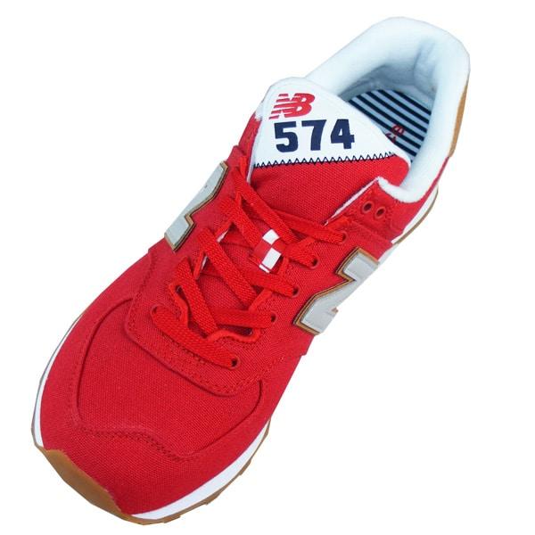 quality design b9e1f 56ce9 New Balance ML574 YLA Herren Sneaker rot - meinsportline.de