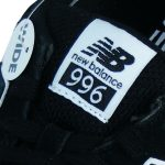 Zungenlabel NB 996 Textilpatch