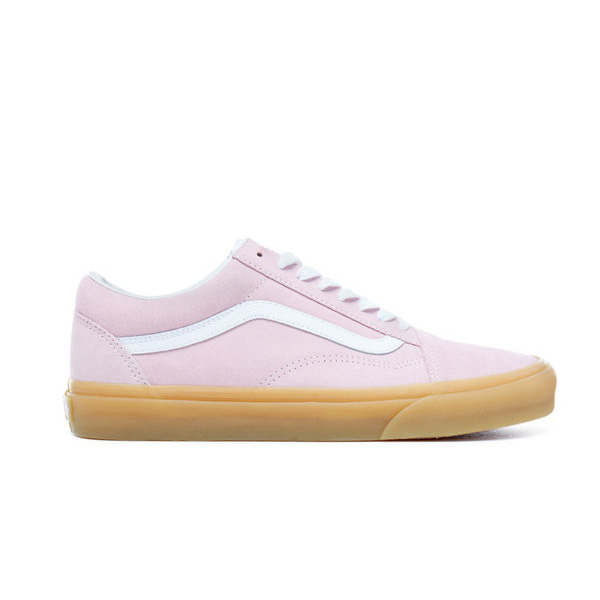 Vans Old Skool Double Light Gum Bumper Retro Damen Schuhe