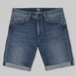 Oberstoff: 98% Baumwolle 2% Elastane 'Spicer' Blue Stretch Denim, 11.75 oz