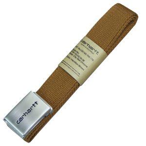 Carhartt WIP Clip Belt hamilton brown Gürtel Tonal braun